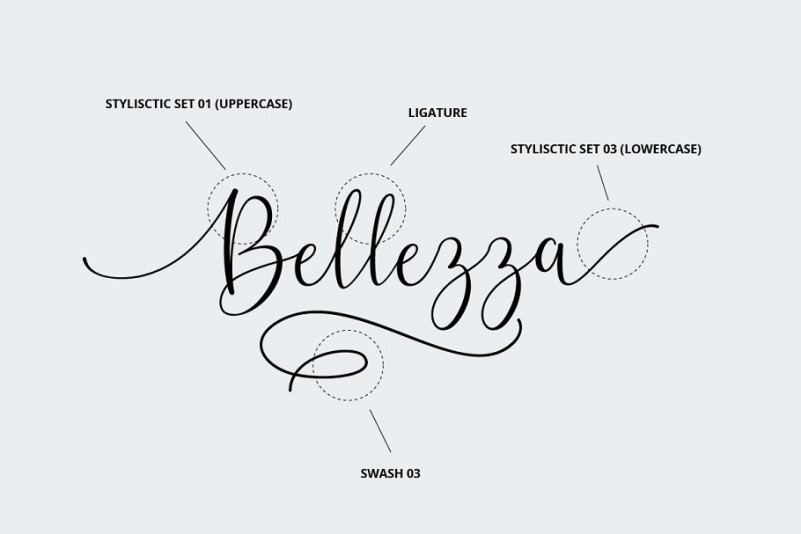 Belly Betty Script Font-3
