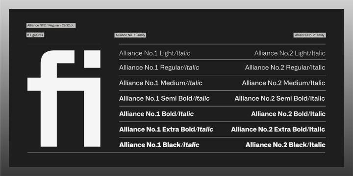 Alliance Font Family-3