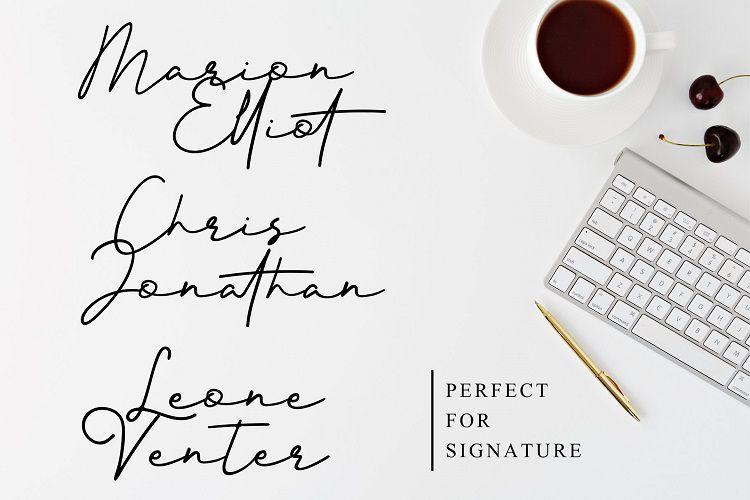 Better Signature Font-3
