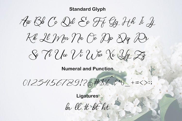 Bring Heart Script Font-3