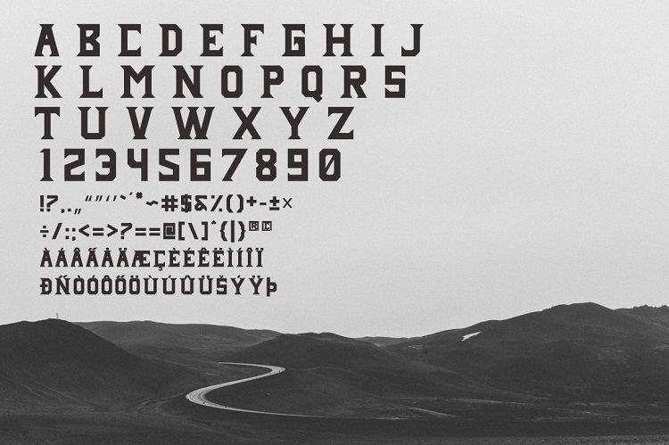 Janji Neue Typeface-2
