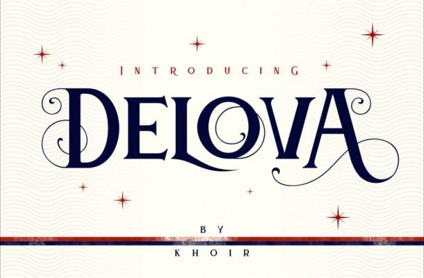 Delova Typeface