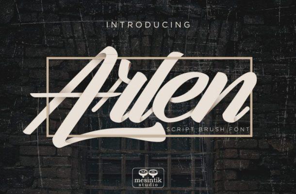 Arlen Script Font