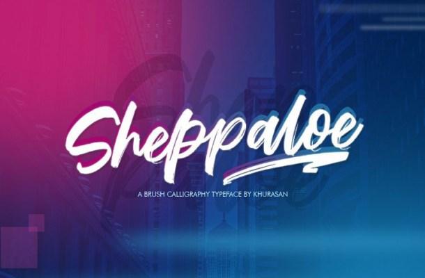 Sheppaloe Brush Font