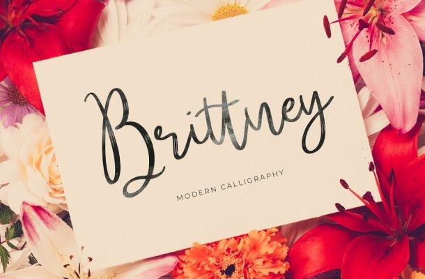 Brittney Script Font