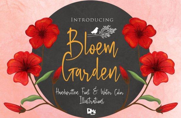 Bloem Garden Script Font