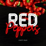 Red Peppers Font Duo