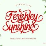 Ferishley Sunshine Script Font
