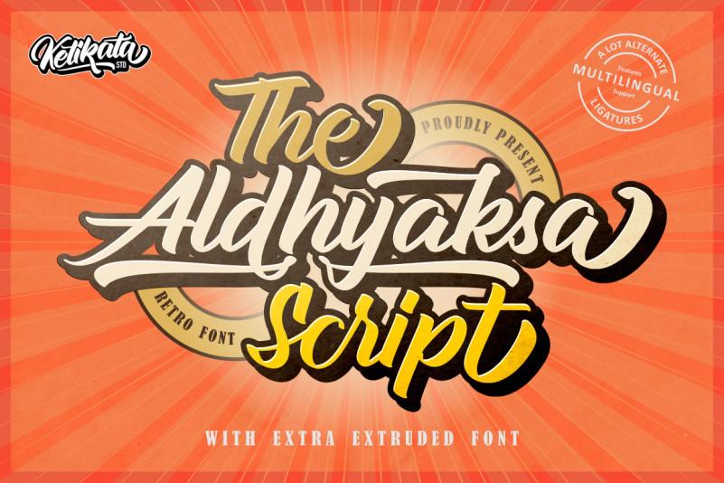 aldhyaksa-script-font-1