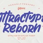 Attractype Reborn Script Font
