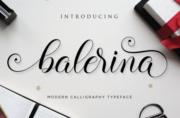 Balerina Script Font
