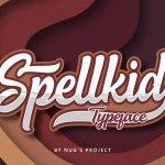 Spellkid Script Font