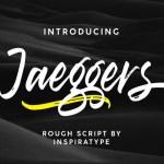 Jaeggers Script Font
