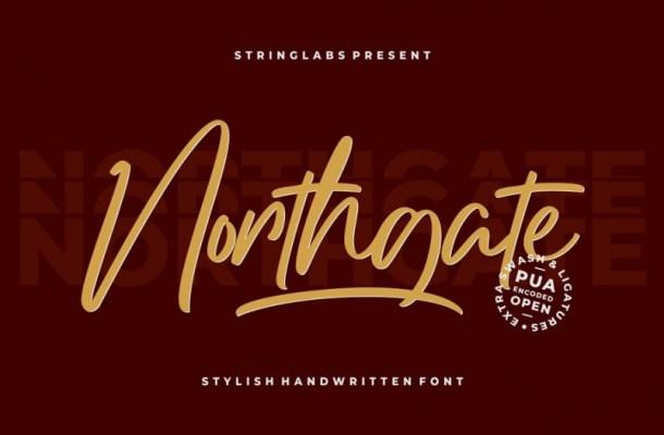 Northgate Script Font