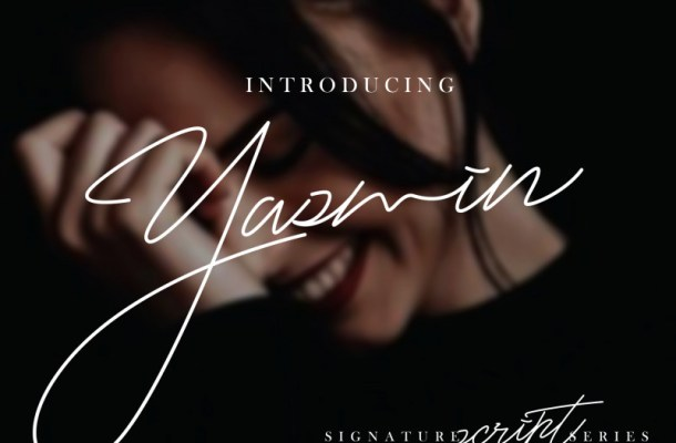 Yasmin Free Script Font