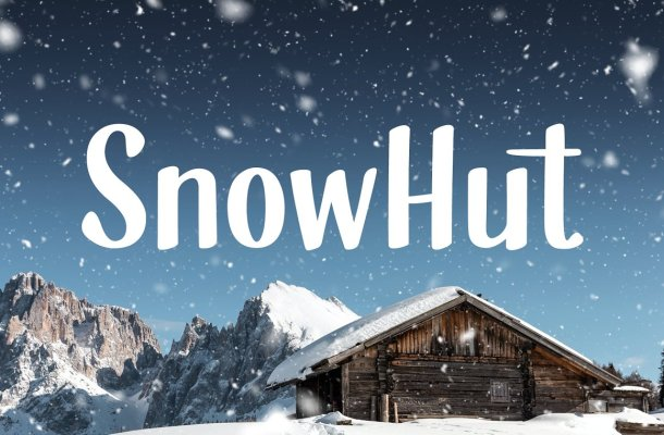 SnowHut – Free Full Glyphset Font