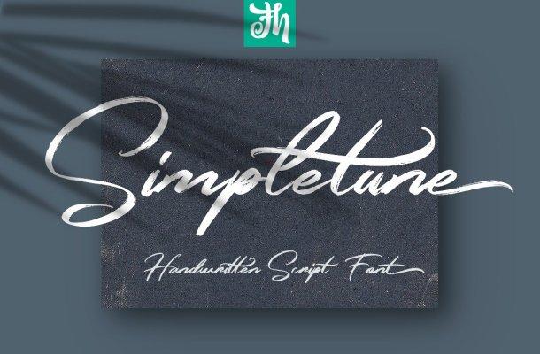 Simpletune Handwritten Font