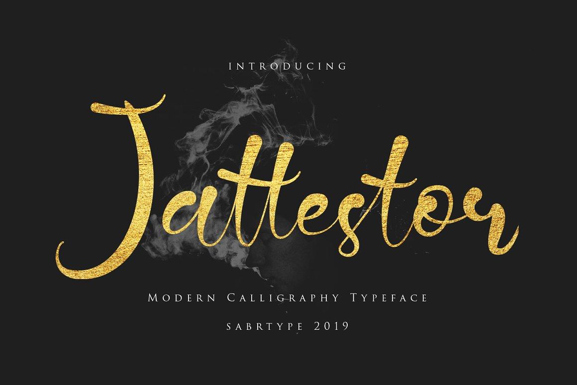 Jattestor-Font
