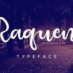 Raquen Script Font