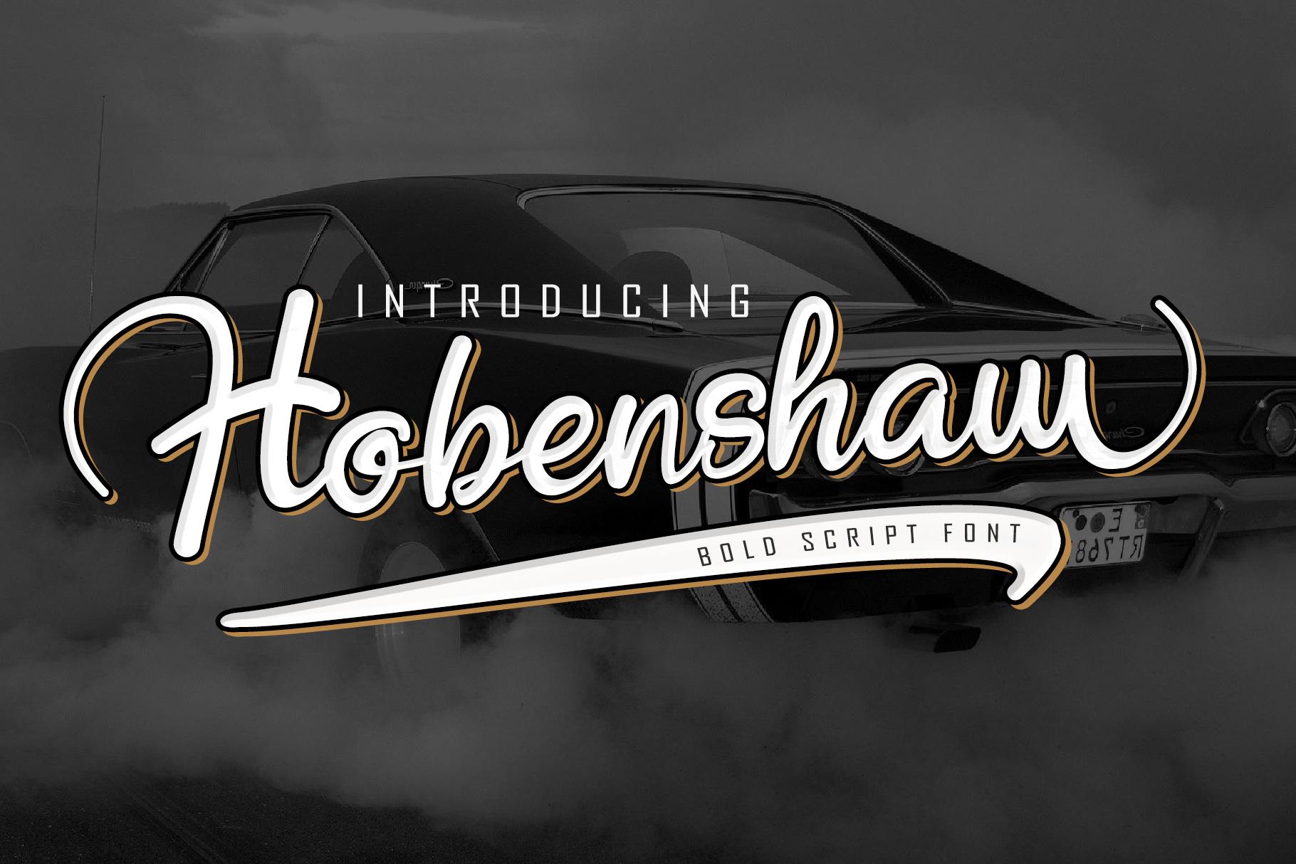 Hobenshaw-Font