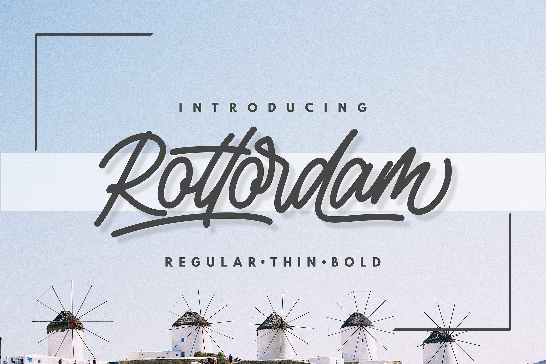 Rottordam-Font
