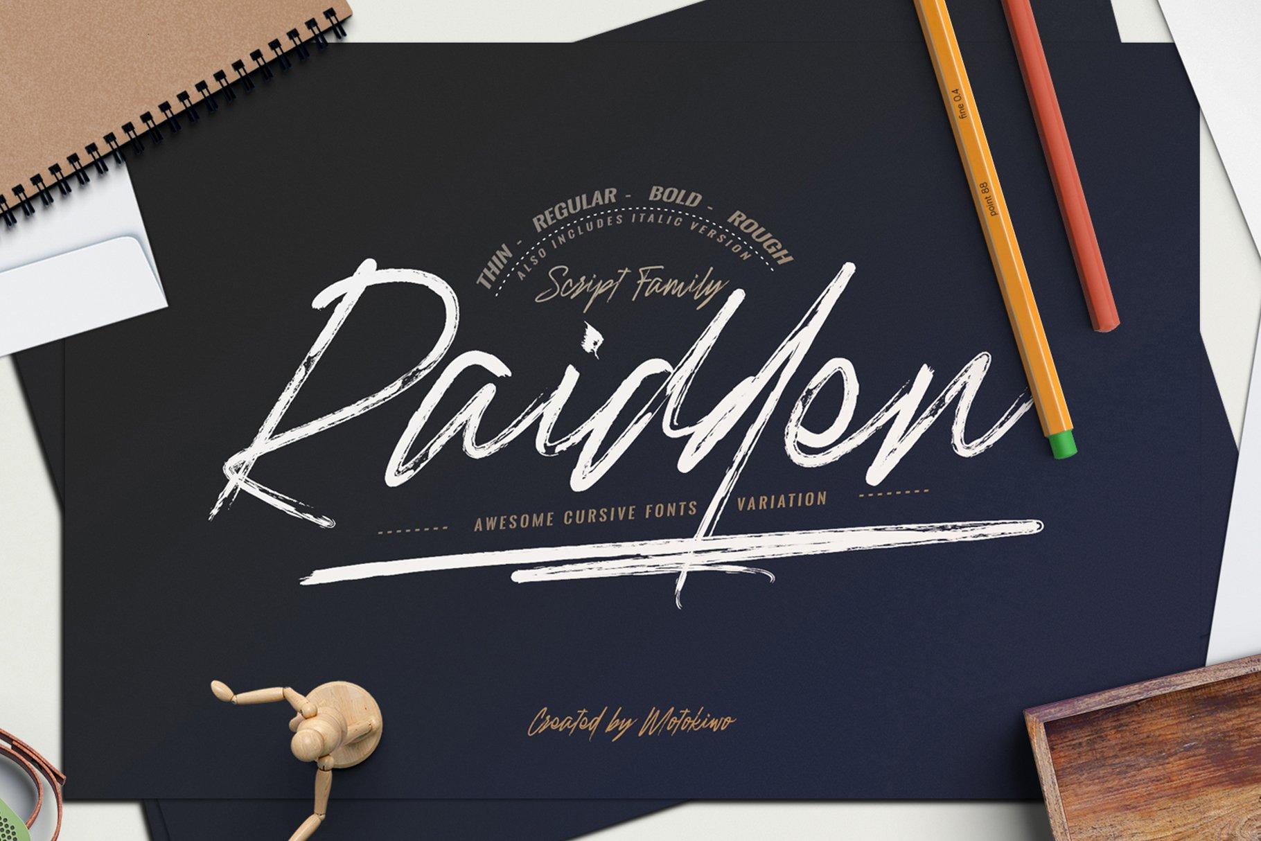 Raidden-Font