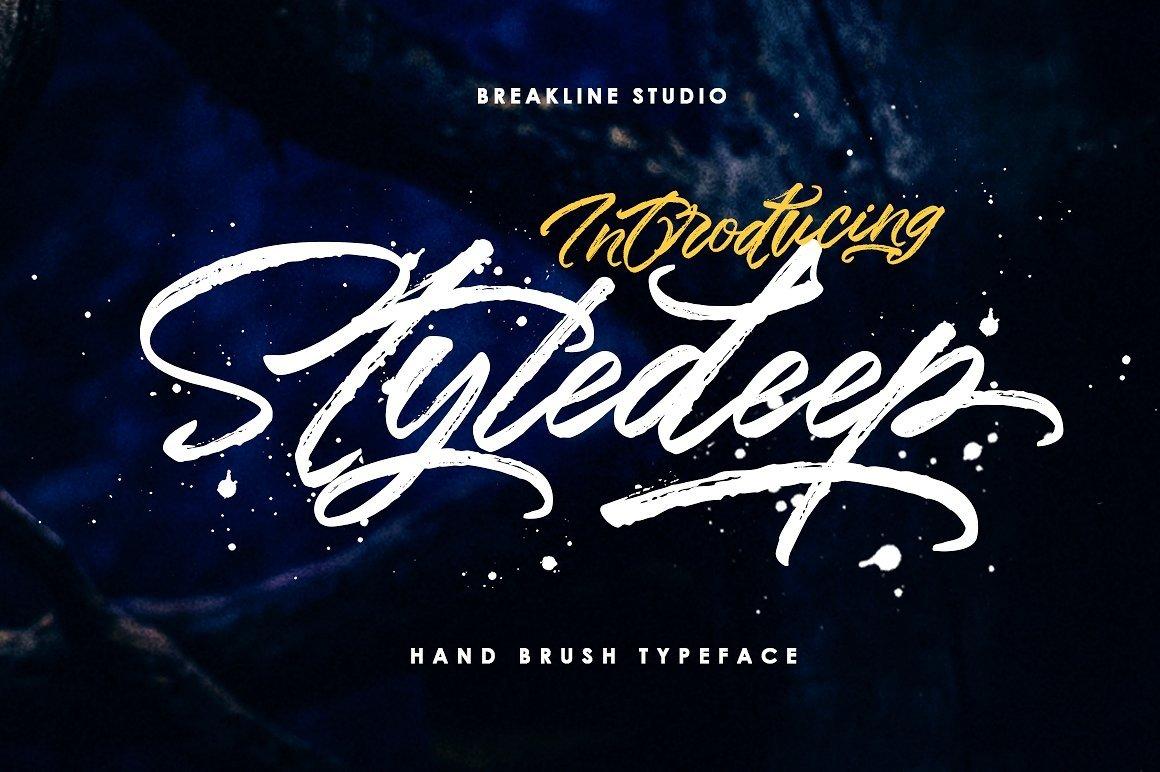 Styledeep-Font