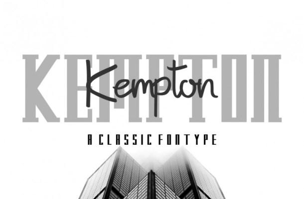 Kempton Typeface