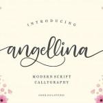 Angellina Script Font