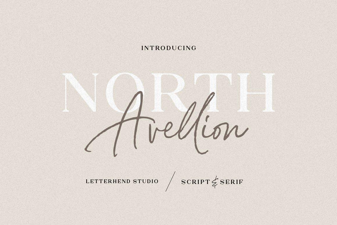 North-Avellion-Font