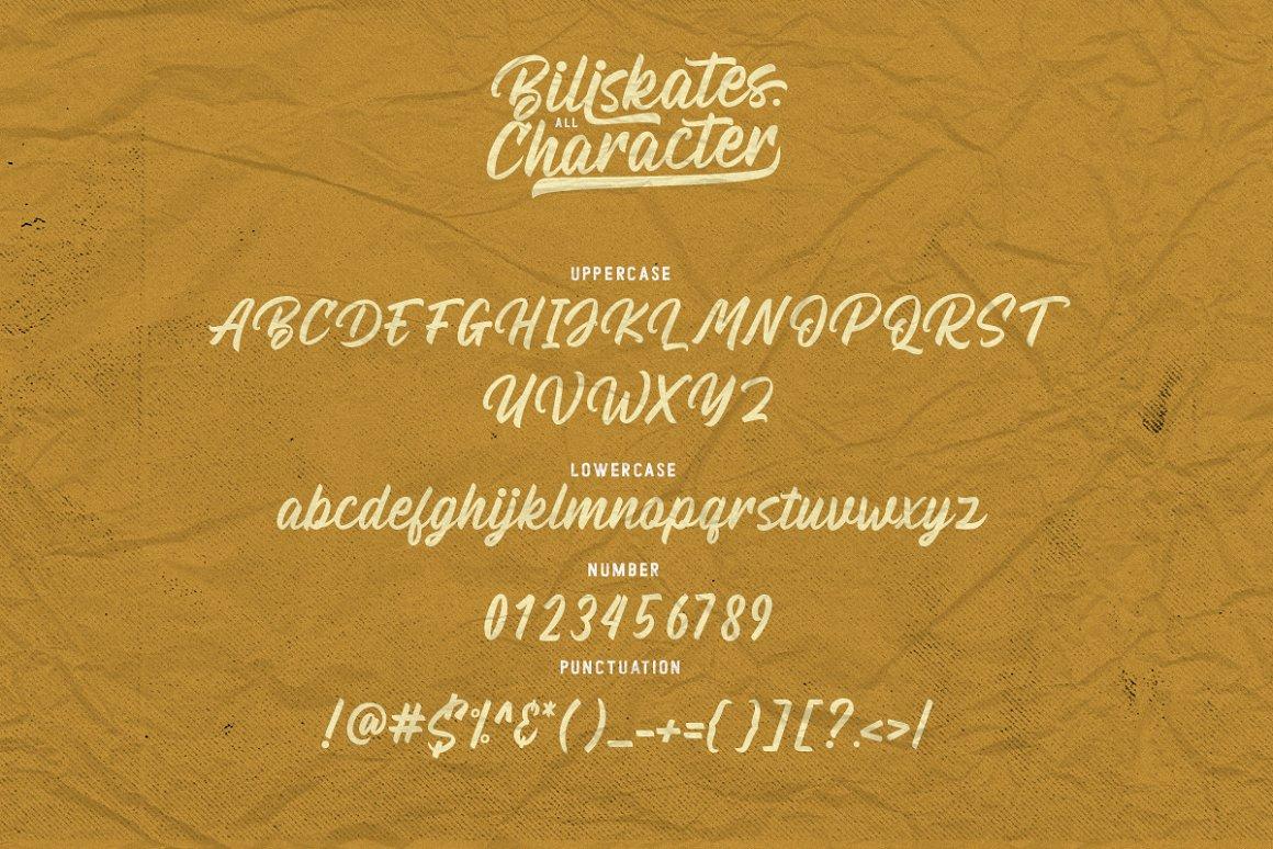Billskates Font 3
