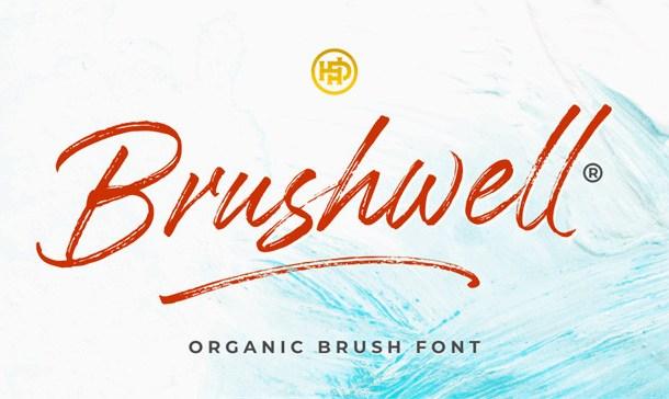 Brushwell Brush Font