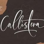 Callistera Script Font