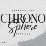 Chrono Sphere Font Duo