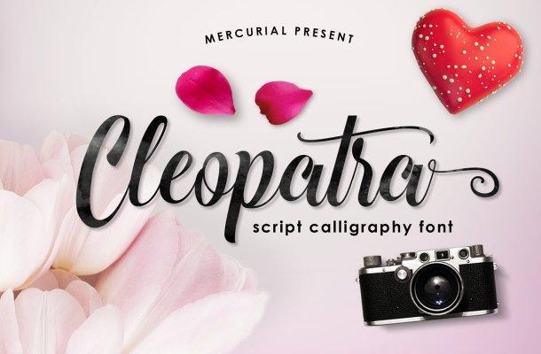 Cleopatra Script Font