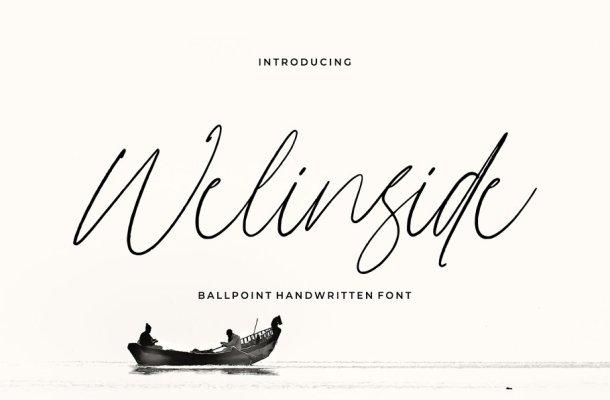 Welinside – Handwritten Font