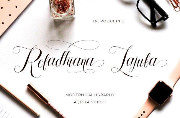 Refadhiana Lajuba Font