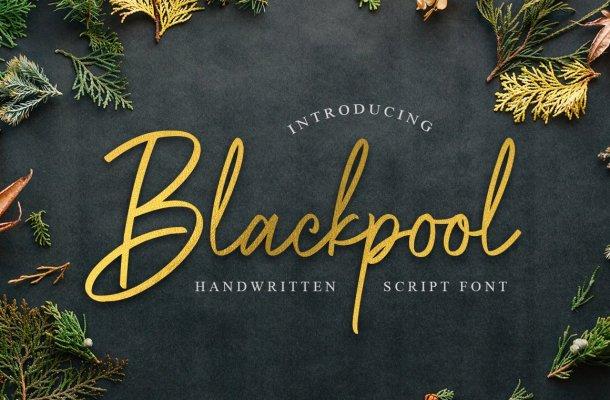Blackpool Handwritten Font