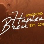 Husslee Break Script Font