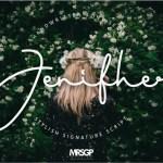 Jenifher Signature Script Font