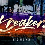 Kreakers Brush Font