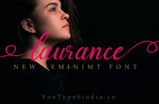 Laurance Lovely Font