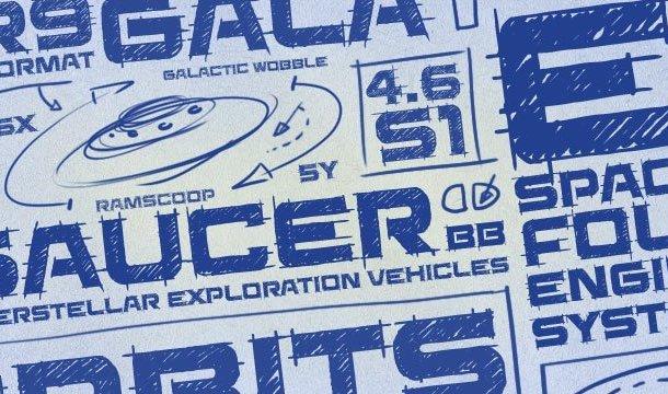 Saucer BB Font