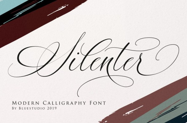 Silenter Calligraphy Font