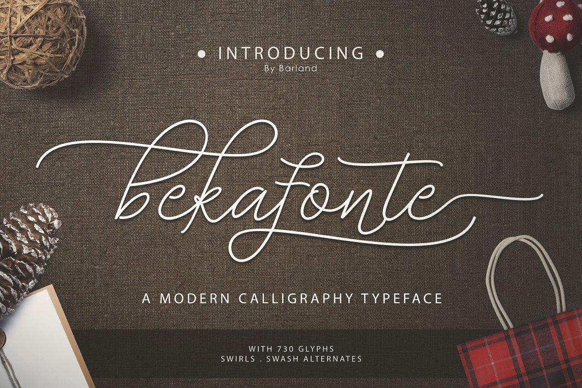 Bekafonte-Font