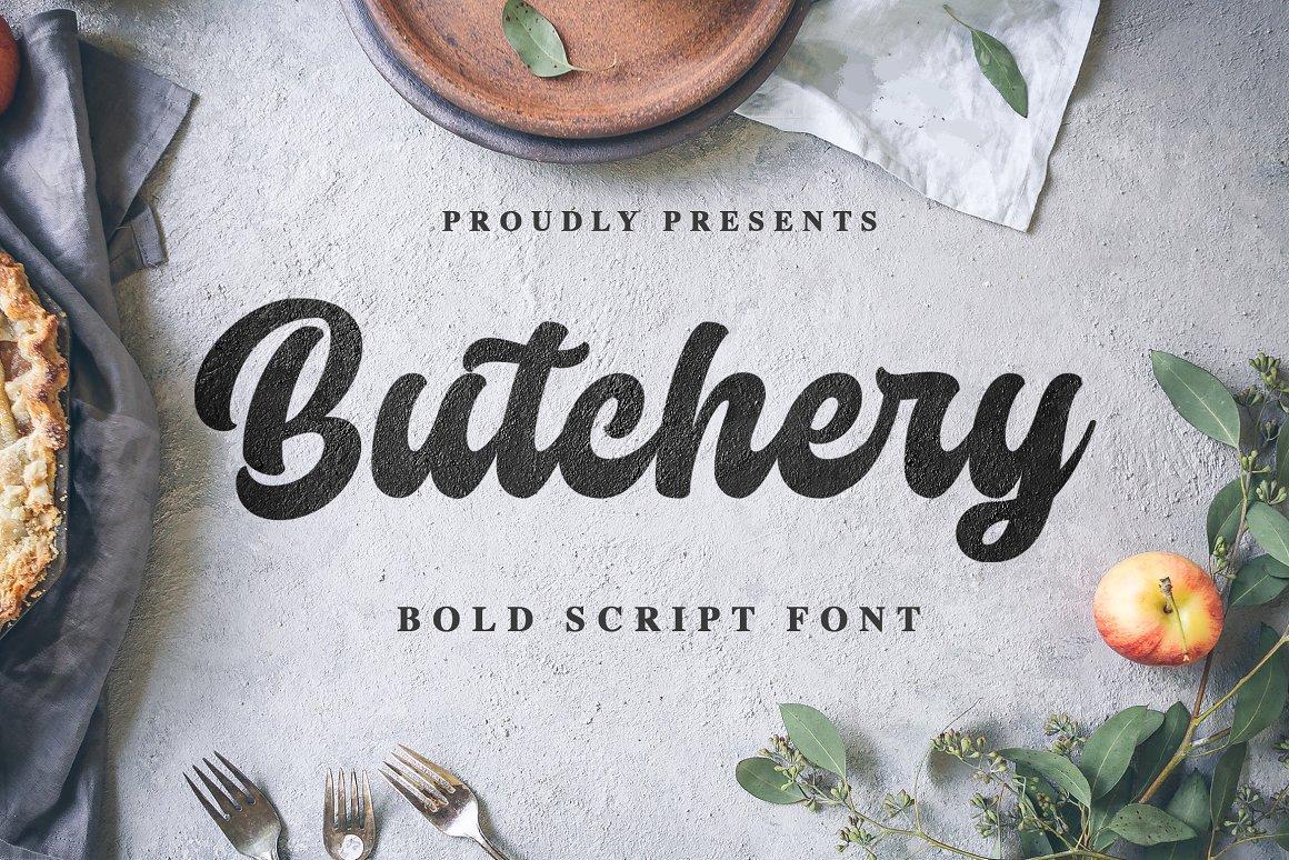 Butchery-Font