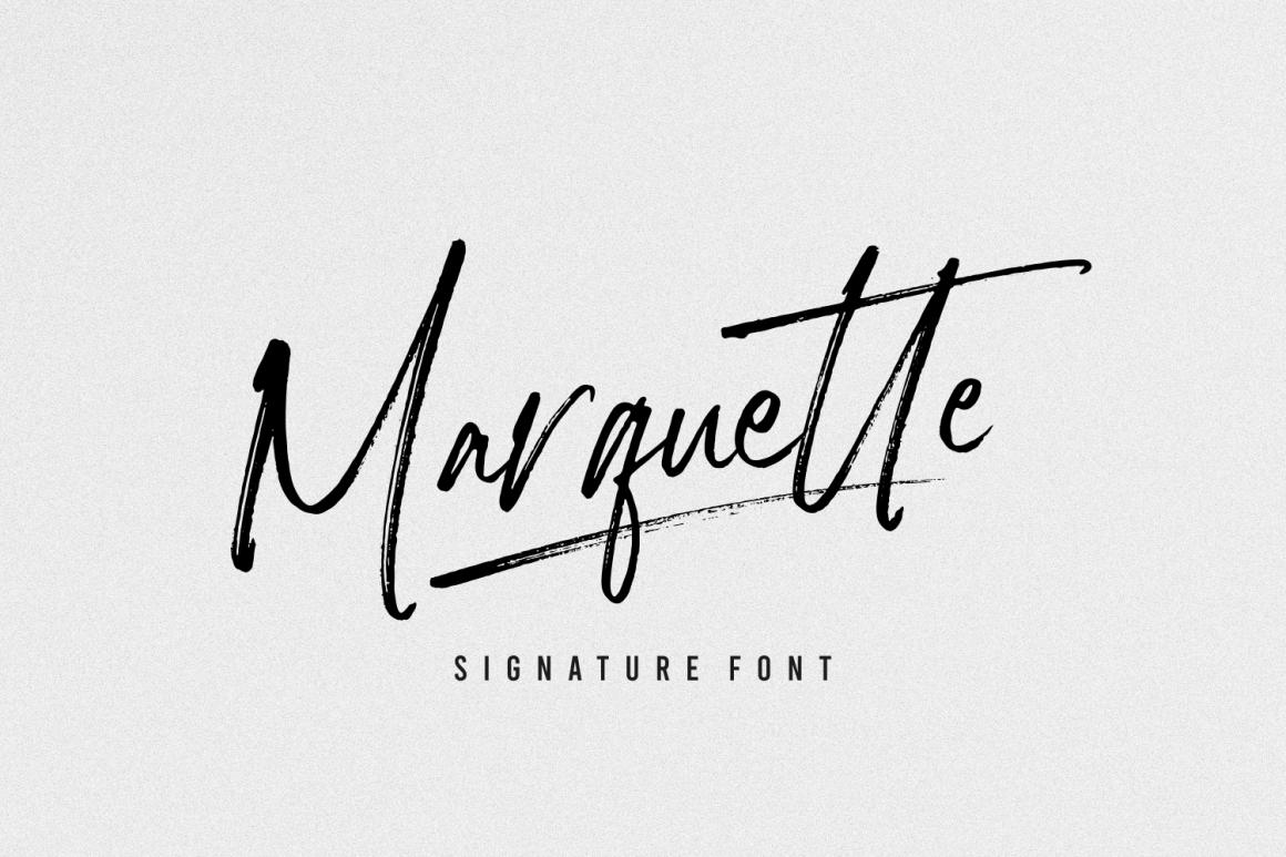 Marquette-Font