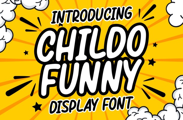 Childo Funny Display Font