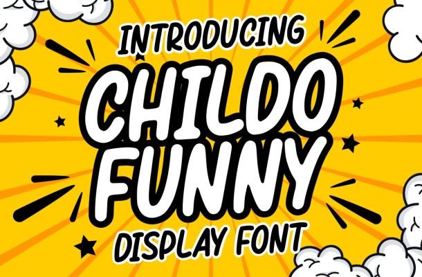 Childo Funny Display Font