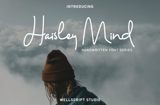 Haisley Mind – Handwritten Script Font